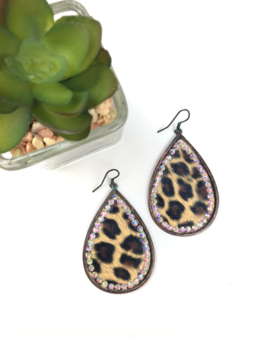 Cheetah Girl Earrings