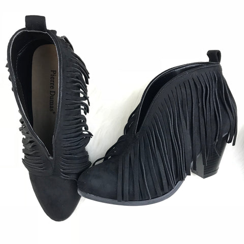 Fringe It My Way Booties