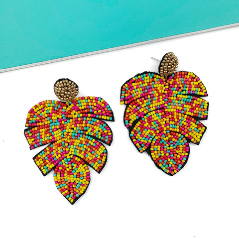 Cabana Leaves Earrings