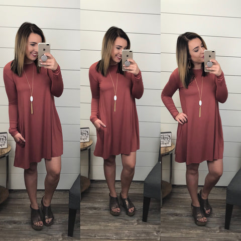 Piko Longsleeve Dress
