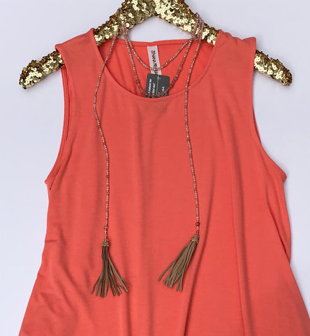 Taylor Tassel Necklace