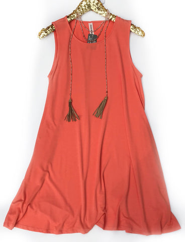 Orange Crush Swing Dress