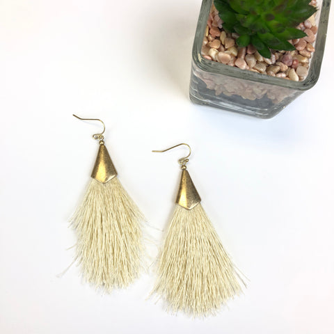 Witches Broom Earrings