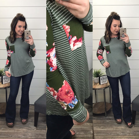 A Different Way Floral Top
