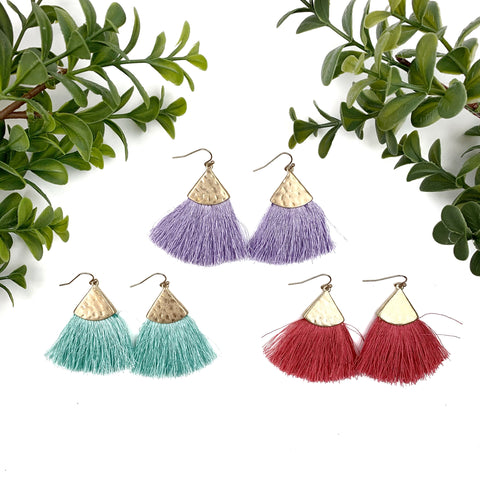 Nothing Like You Tassel Earrings