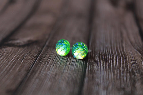 8mm Green Mermaid