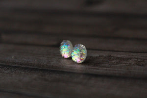 8mm Iridescent Mermaid