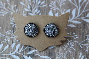 12mm Flat All Gunmetal