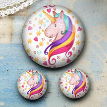 Load image into Gallery viewer, 8mm Unicorn Earrings