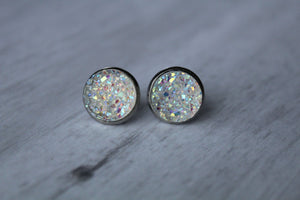 12mm Chunky iridescent