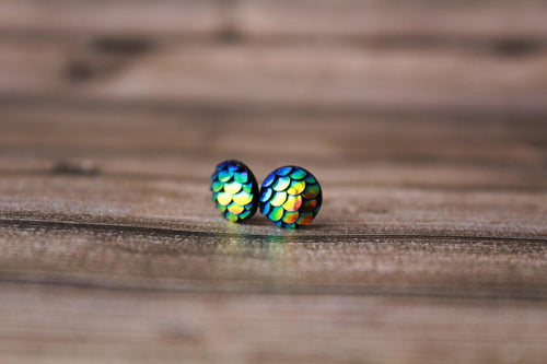 8mm Blue/Green Mermaid
