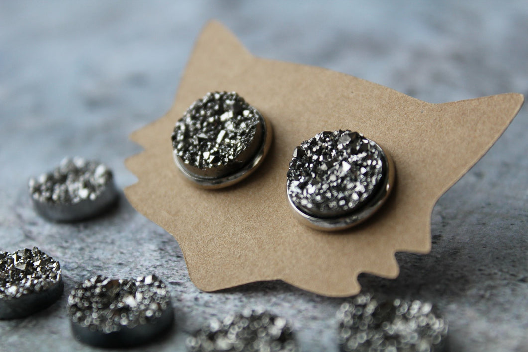 12mm Metallic Gunmetal
