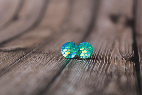 8mm Teal Mermaid