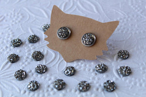 8mm Flat Gunmetal