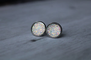 12mm Flat Iridescent