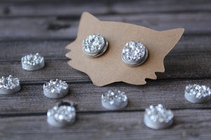 10mm Chunky Silver