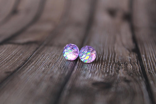 8mm Purple Mermaid