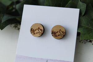12mm Wood Mountains 1