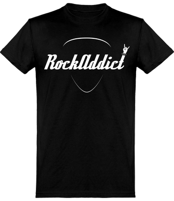 Tee Shirt RockAddict Officiel