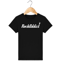Tee Shirt Enfant Bio RockAddict Officiel