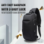 (50% OFF) Anti-theft Backpack With Lock