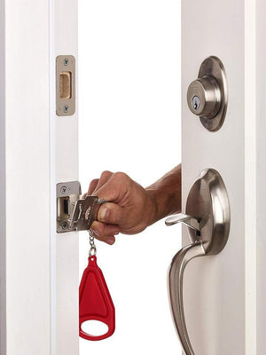 The Portable Door Lock - Safeguard your privacy and keep intruders out