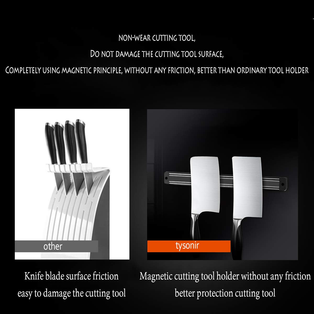 Magnetic Knife Tools Strips