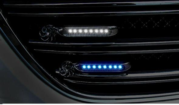 Automatic set wind power light 6 LED, daytime running lights, fog lights (2pcs) - Buy 2 Free Shipping