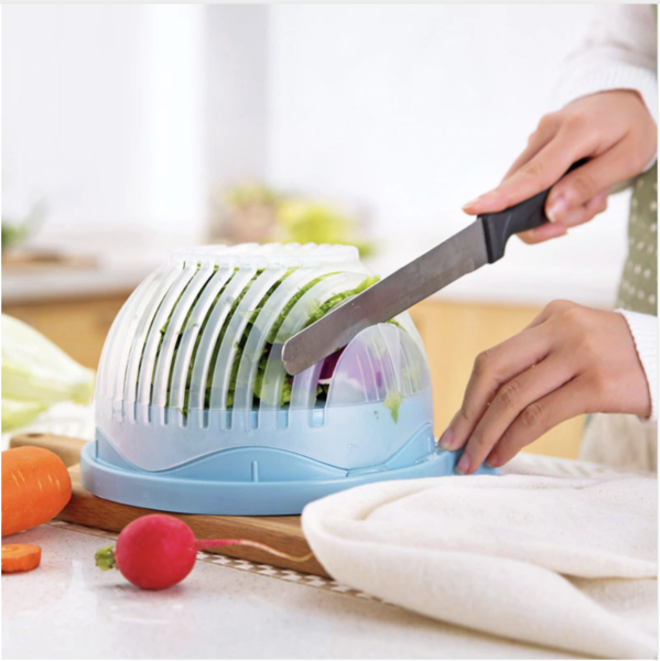 THE ORIGINAL 60-SECOND SALAD CUTTER