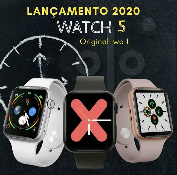 Review Smartwatch Iwo11 idêntico ao Apple Watch 5: Lista com as principais novidades!