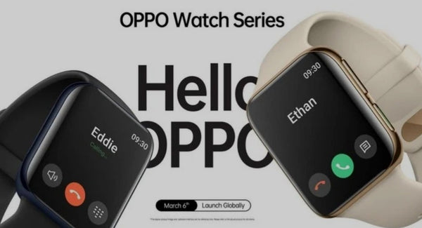 Oppo Watch: relógio chinês que copia Apple Watch surge na web