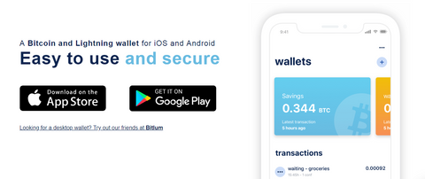 Blue Wallet for iOS e Android