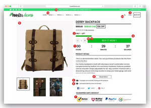 Tema Booster - Shopify 2019 - Learts Shop