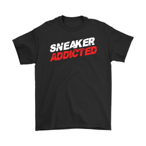 Open image in slideshow, Sneaker Addicted White Tee
