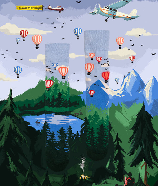 Sosete Balloon Adventure
