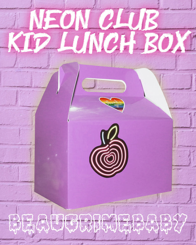 Neon Club Kid Lunch Box