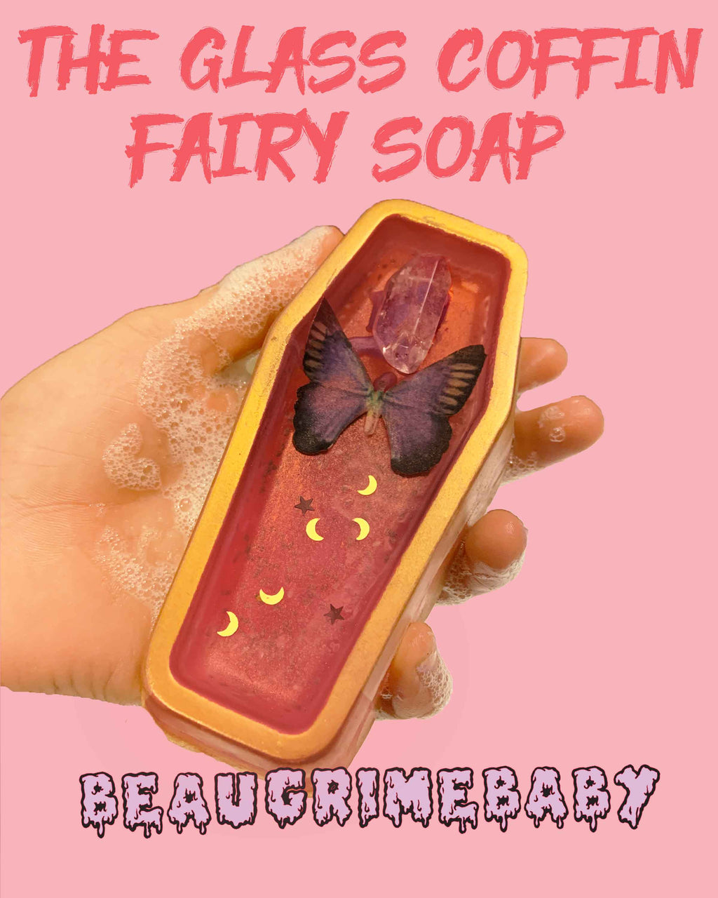 The Glass Coffin Fairy Soap