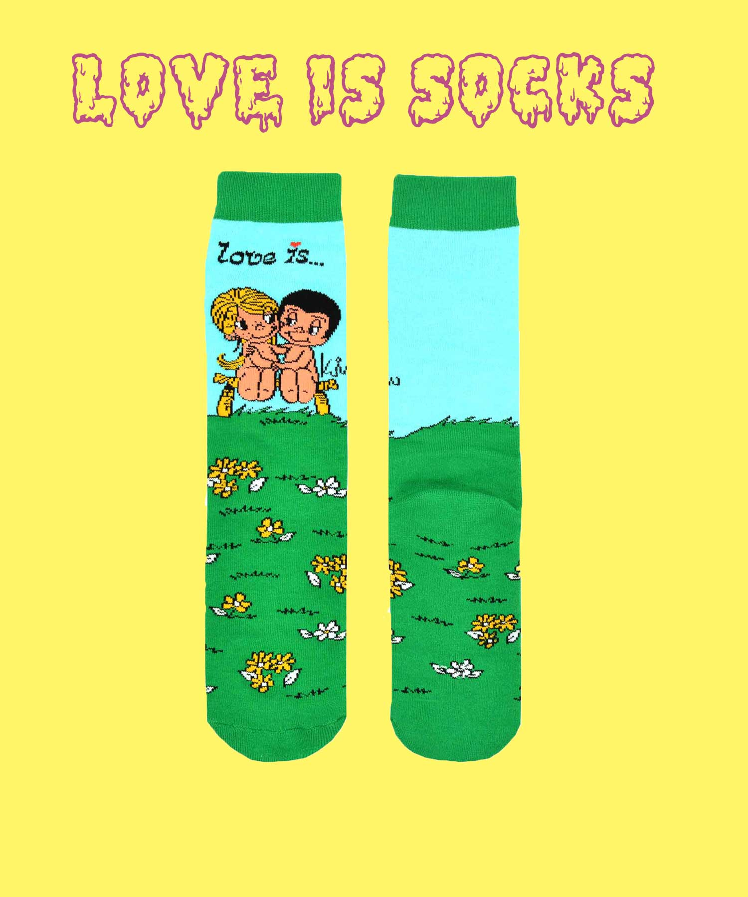 LOVE IS - LOVE YOU SOCKS