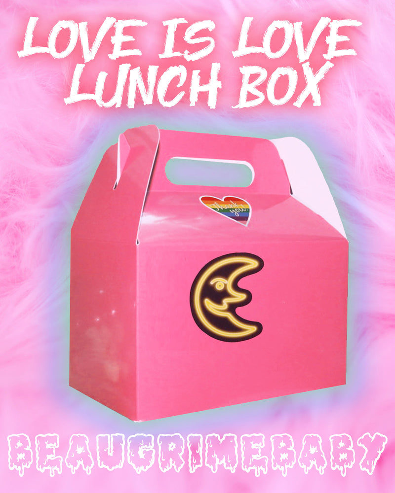 Love Is Love Lunch Box