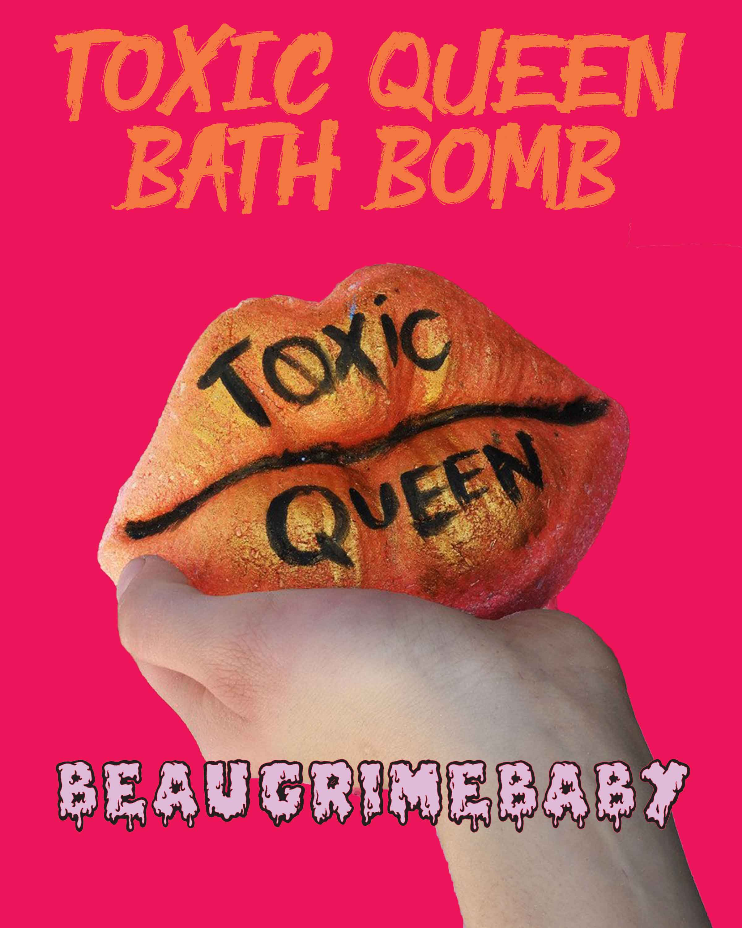 Toxic Queen - Bath Bomb