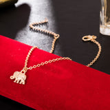 Our Tibetan Silver Plated Hollow Elephant Anklet