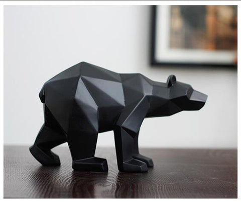 Luxury Modern Bear Sculpture/Ornament