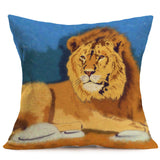 WILD CATS Home Decoration Pillow Case Cushion Covers