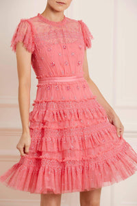 Andromeda Dress - Dark Pink