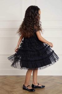 Andromeda Kids Dress - Black