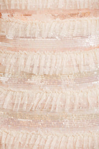 Ariana Sequin Gown - Pink