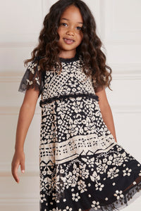 Aurora Kids Dress - Black