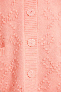 Bow Stitch Longline Cardigan