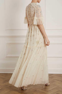 Ether Gown - Beige