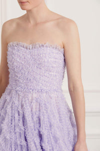 Florence Gingham Corset Gown